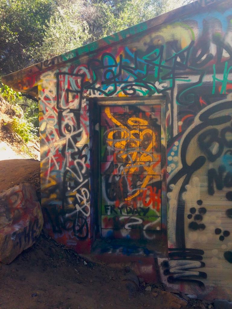 Murphy's Ranch outside  bunker