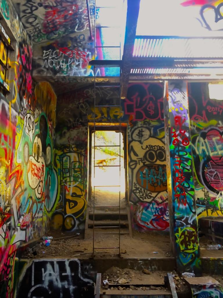 Murphy's Ranch inside bunker